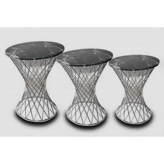 Mimoza Set of 3 side table
