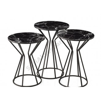 Sand Watch Set of 3 Side Tables